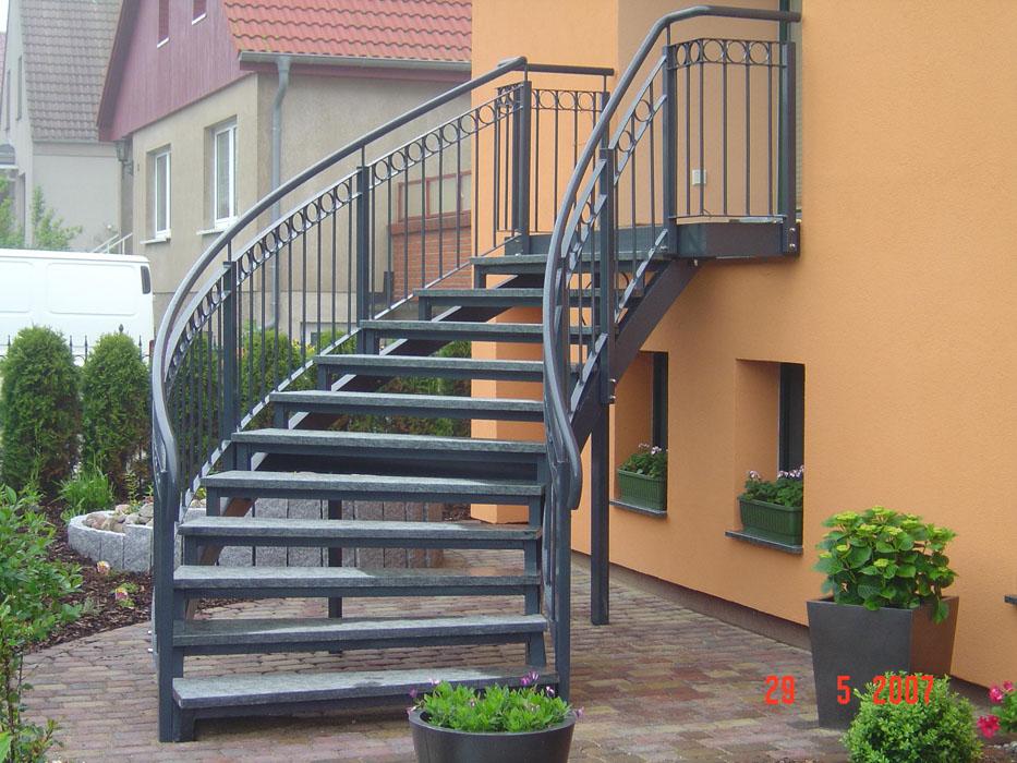balkone treppen sonderanfertigungen metallbau rostock. Black Bedroom Furniture Sets. Home Design Ideas